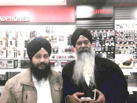 Dr.Gurinder Singh Ji with Bhai Gurmeet Singh Ji Shant (Canada 2013)