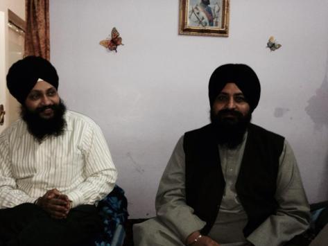 Dr.Gurinder Singh Ji with Bhai Satvinder Singh Ji (Delhi Wale)
